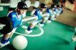 canvas print picture - High Angle Close-up Of Fussball