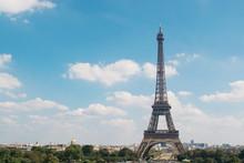 Eiffel Tower Against Sky In City