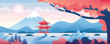 Chinese Landscape Vector Illus...