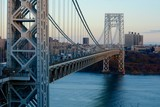 George Washington Bridge Over River