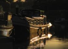 River Thames Dutch Barge Water...