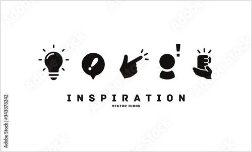 Papel de parede [Inspiration] vector icons