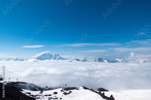 Fényképezés Mount Elbrus