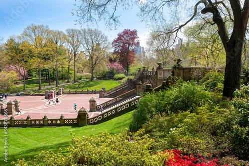 Платно Navy Terrace AKA Bethesda Terrace in Central Park. New York