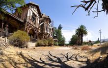 House Abandoned In The Desert