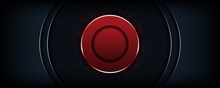 Abstract Luxury Dark Background With Red Circle Shape