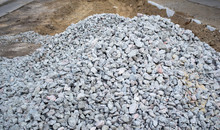 A Pile Of Building Rubble. The...