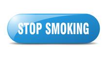 Stop Smoking Button. Stop Smoking Sign. Key. Push Button.