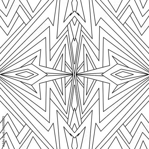 Valokuva Simple Mandala Shape