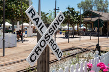 Old Poway Park And Railroad Cr...