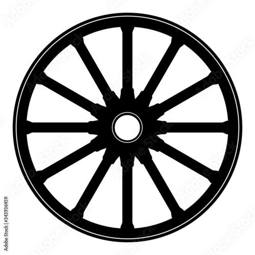 Fotografia Wagon wheel