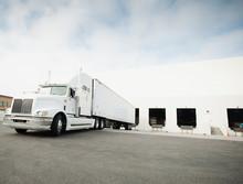 Truck Loading In Warehouse