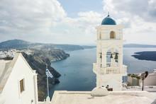 Beautiful View From Santorini ...
