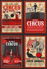 Circus And Funfair Arena Show,...