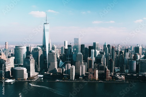 Foto Murales New York City from The Air