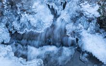 Eis, Gefrorenes Wasser, Bach W...