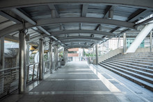 Empty Walkway At Chong Nonsi S...