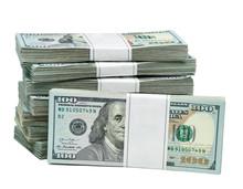 New Design Dollar Bundles Isol...