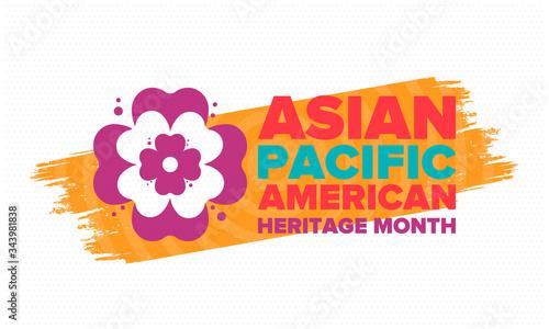 Asian Pacific American Heritage Month Fototapeta