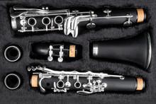 Black Clarinet  Silver Wooden ...