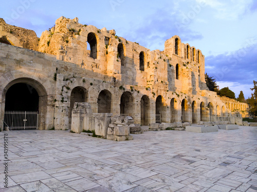 Fotografia Odeon Of Herodes Atticus