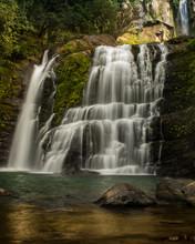 Waterfall In The Forest. Nauyaca Waterfall, Costa Rica.