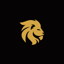 Vector Lion King Head Logo