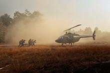 Sending Injured Soldiers Back ...