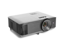 Modern Video Projector On White Background