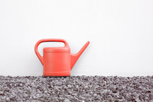 Single Coral Watering Can In T...