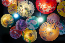 Chinese Traditional Flower Paper Umbrella