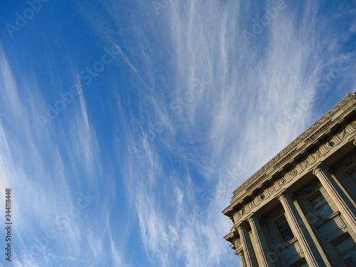 Fotografia Low Angle View Of San Francisco City Hall Against Sky