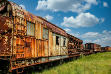 An Old Abandoned Railroad Trai...