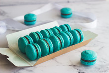 Macaroons. Delicious French De...