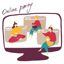Quarantine Online Friends Part...