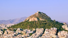 Mount Lycabettus From Acropoli...