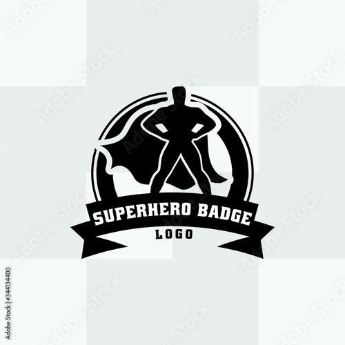 Comic superman in illustration Fototapet