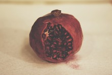 Close Up Of Pomegranate