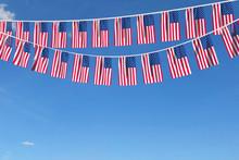 USA Flag Festive Bunting Hangi...