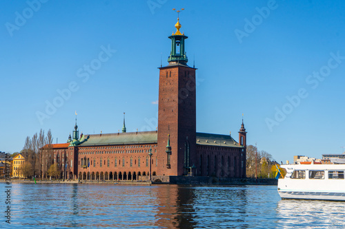 Photographie The Stockholm City Hall (Stockholms stadshus)