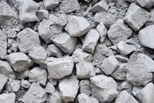 Debris Of Broken Concrete Ceme...