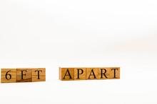 Spelling 6ft Apart