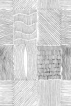 Lines Set Seamless Texture. Ha...