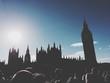 Silhouette Of Big Ben