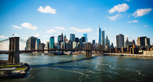 Manhattan Skyline, New York Ci...