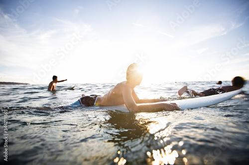 Crianças surfistas Slika na platnu