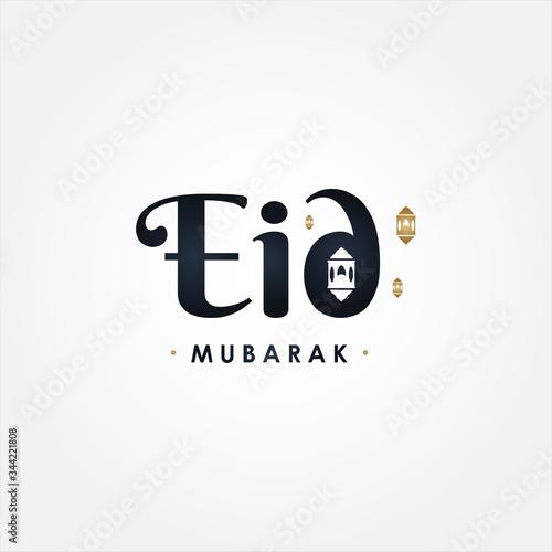 Eid Mubarak Vector Design Illustration Wallpaper Mural