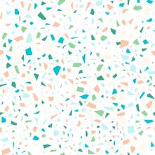 Green Terrazzo Seamless Pattern
