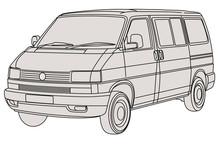 Illustration Volkswagen Carave...