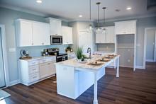 Open Floor Plan Kitchen In A N...